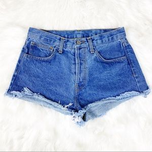 John Galt by Brandy Melville Denim Shorts Medium
